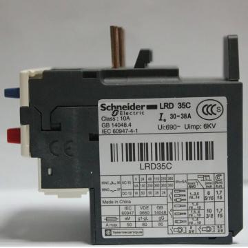 施耐德LRD继电器(热过载)
