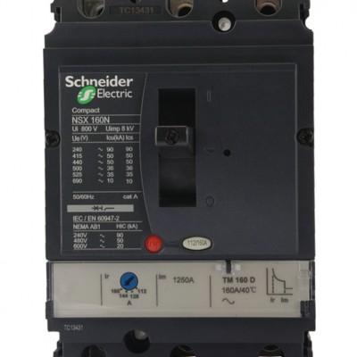 施耐德塑壳断路器 NSX100F 3P 16A 原装正品